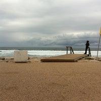Photo taken at Praia do CDS by Manel Z. on 3/17/2012