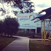 Photo taken at Blacktown International Sportspark by Nyssa C. on 8/19/2012