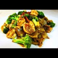 Photo taken at Zen Japanese Thai Cuisine by Belle on 8/22/2012
