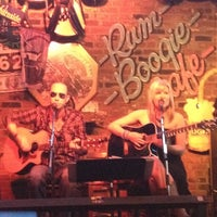 Photo taken at Rum Boogie Café by Angela M. on 4/14/2012