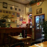 Photo taken at La Creperia Cafe by Sharon L. on 4/7/2012