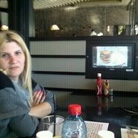 Photo taken at Burgus Burger Bar by Guy G. on 4/23/2012