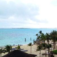 Photo taken at Meliá Nassau Beach by Jenn on 3/15/2012