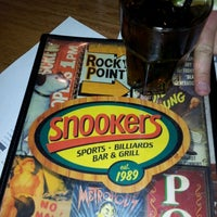 Photo taken at Snookers by Michael P. on 4/15/2012