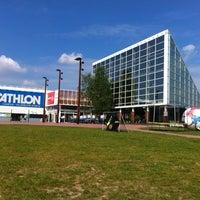 Photo taken at Decathlon by Thomas B. on 6/1/2012