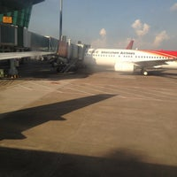 Photo taken at Shenzhen Bao'an International Airport (SZX) by Tobari J. on 9/13/2012