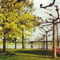 Photo taken at Rheinturm Park by Pedro C. on 4/28/2012