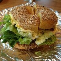 Photo taken at Sam's Bagels by Brad Z. on 4/2/2012