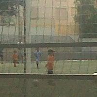 Photo taken at Olimpica Victoriana Club de Futbol by Cisco M. on 6/19/2012