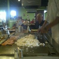 Photo taken at Osaka Japanese Steakhouse & Sushi Bar by Rosalind J. on 7/15/2012