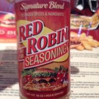 Photo taken at Red Robin Gourmet Burgers by Debora D. on 5/23/2012