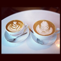 Photo taken at Bowery Coffee by @HungryEditor B. on 3/10/2012