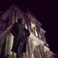 Photo taken at Benjamin Franklin Statue by Jason B. on 2/20/2012