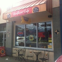Photo taken at Sunflower Cafe by Ryan S. on 2/23/2012