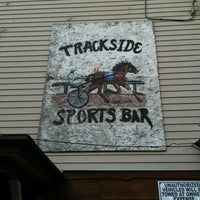 Photo taken at Trackside Sports Bar by Mark L. on 6/10/2012