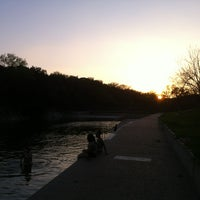 Photo taken at Barton Springs Pool by Danny S. on 3/13/2012