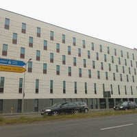 Photo taken at InterCityHotel Berlin-Brandenburg Airport by Julián M. on 6/6/2012