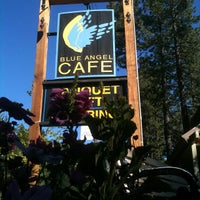 Photo taken at Blue Angel Cafe & Catering Co. by Home B. on 6/12/2012