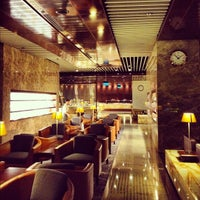 Photo taken at SIA SilverKris Lounge (Terminal 3) by Stephan S. on 9/3/2012