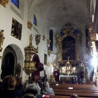 Photo taken at Church of Our Lady Beneath the Chain by Petr S. on 6/1/2012