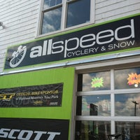 Photo taken at AllSpeed Cyclery and Snow by Jay M. on 2/25/2012