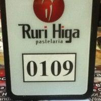 Photo taken at Pastelaria Ruri Higa by Osmarino J. on 8/27/2012