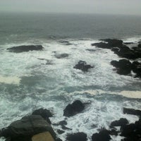 Photo taken at Punta de Lobos by Paola B. on 4/22/2012