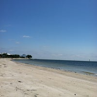 Photo taken at Shell Point Beach by Jen C. on 4/22/2012