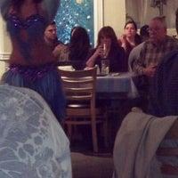 Photo taken at Mykonos Taverna by Sandy J. on 3/10/2012