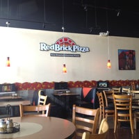 Photo taken at RedBrick Pizza by Anne D. on 5/27/2012