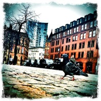 Photo taken at Albert Square by Mike H. on 2/16/2012