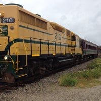 Photo taken at Conway Scenic Railroad by Andrew E. on 7/26/2012