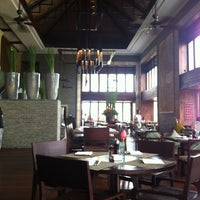 Photo taken at Merica Restaurant, Tanah Lot, Bali by Made Sebastian S. on 4/16/2012