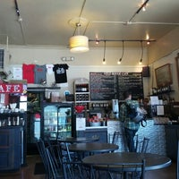Photo taken at Velo Rouge Cafe by Ted L. on 8/26/2012