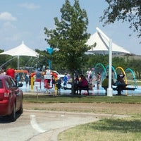 Photo taken at Splash Pad Nelson Park by Francisco P. on 8/6/2012