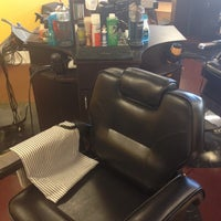 Photo taken at Phil's Barber & Style School by Penzoyal on 3/6/2012