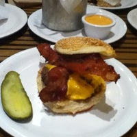 Photo taken at Bobby's Burger Palace by Lydia on 8/18/2012