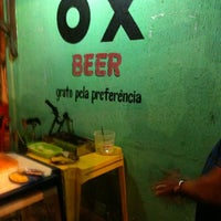 Photo taken at Ox Beer by Victor B. on 5/25/2012