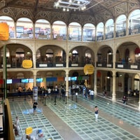 Photo taken at Biblioteca Salaborsa by Carolina D. on 9/1/2012