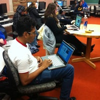 Photo taken at Norlin Library - University of Colorado at Boulder by ColoradoDaily on 2/16/2012