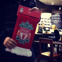 Photo taken at Liverpool FC Official Club Store by Aykut B. on 6/19/2012