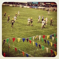 Photo taken at Old Wesley RFC by Daragh W. on 8/31/2012