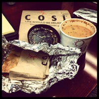 Photo taken at Cosi by Aaron B. on 2/15/2012