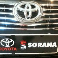 Photo taken at Sorana - Toyota by Fernando F. on 3/12/2012