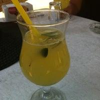 Photo taken at Yeşim Beach & Restaurant by Serap K. on 7/8/2012
