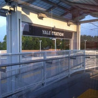 Photo taken at RTD - Yale Light Rail Station by Andree S. on 8/22/2012