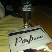 Photo taken at Pitigliano Pizzaria by Marcelo V. on 5/6/2012
