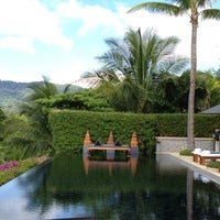 Photo taken at Andara Resort Villas Phuket by Vera Z. on 8/13/2012