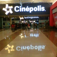 Photo taken at Cinépolis by chrystian c. on 7/8/2012