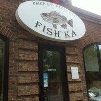 Photo taken at Fish'ka by Mamuka on 8/11/2012